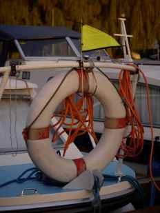 Wind Indicator and Lifebuoy