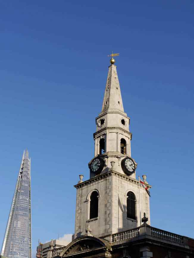 The Shard and St George the Martyr