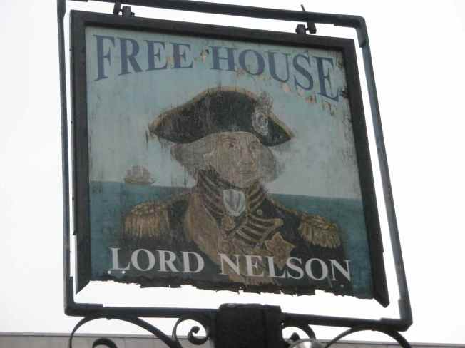 Lord Nelson Sign