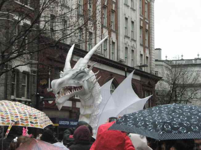 Leicester Square Dragon