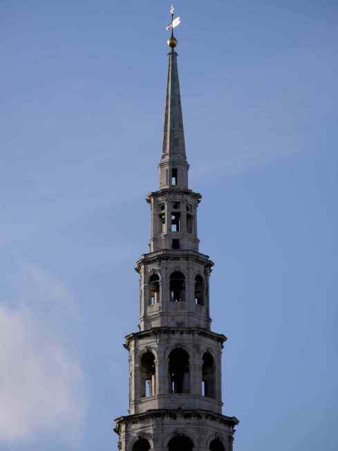 The Spire of St Bride's