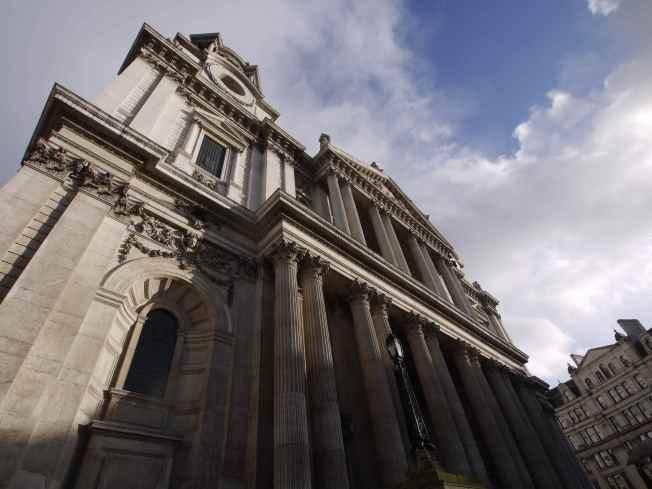 West Front, St Paul's