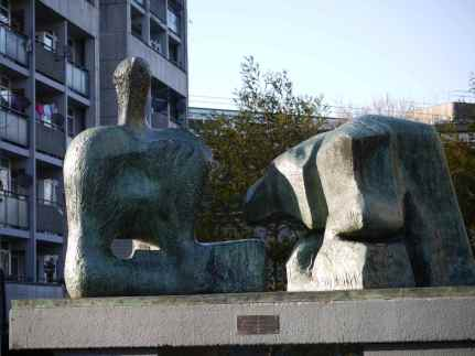 Henry Moore Reclining Figure