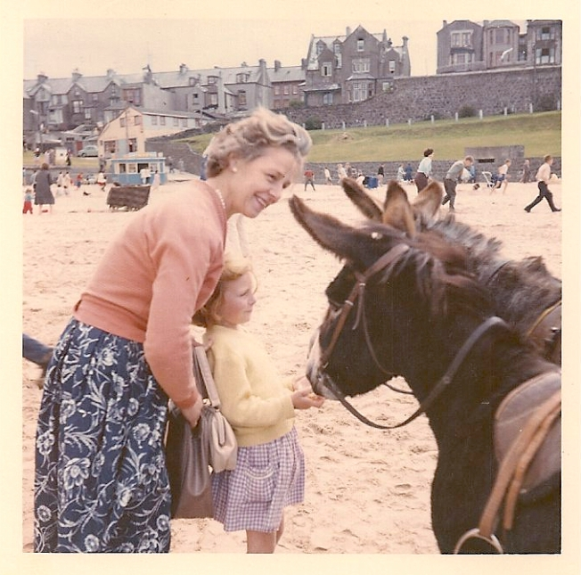 Me and My Mum, With Donkeys