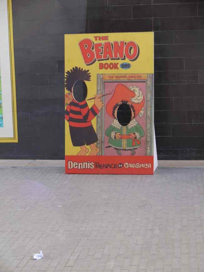 Beano Blank faces
