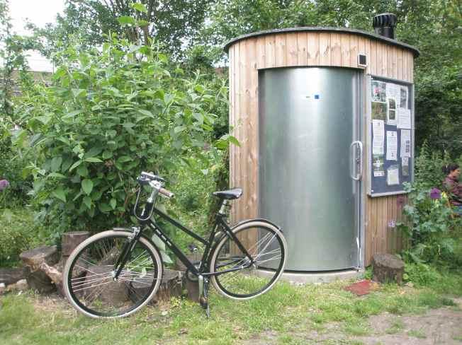Bike and Compost Loo
