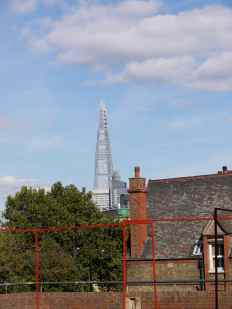 Shard Over the Rooftops