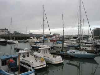 The Harbour at Lowestoft