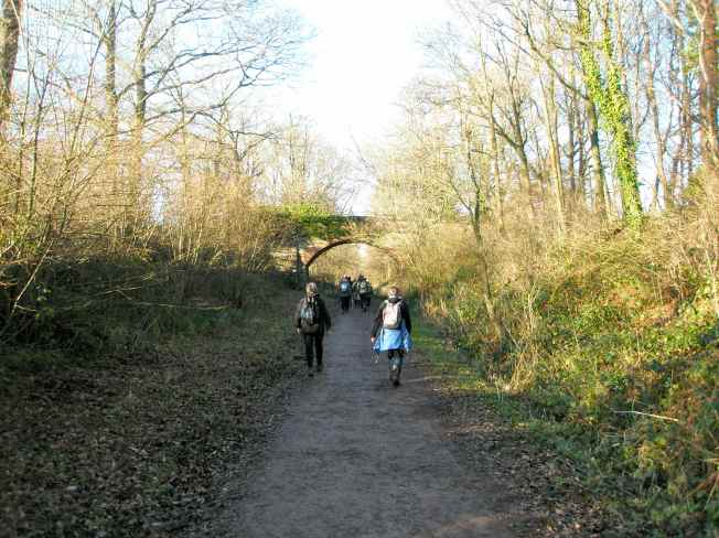 Walking a Disused Railway Track