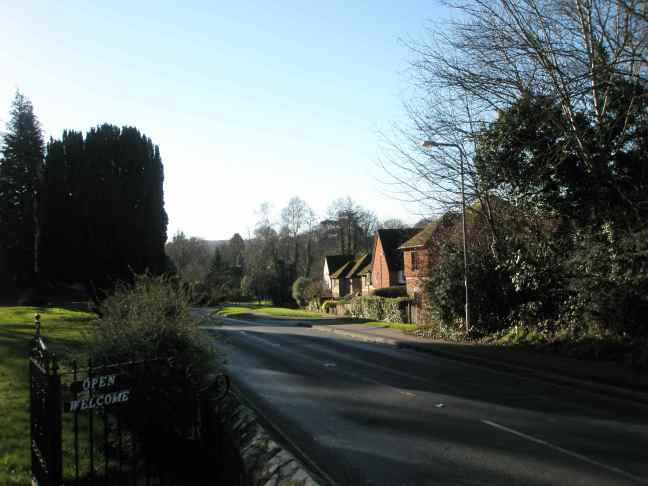 The Road Into Forest Row