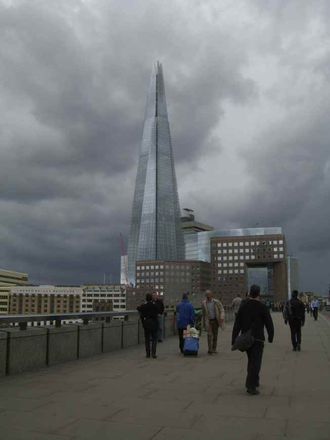 Shard Under the Weather