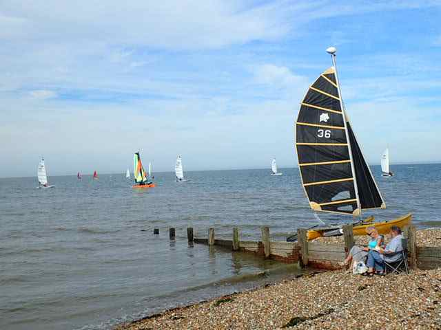 Beach and Sails