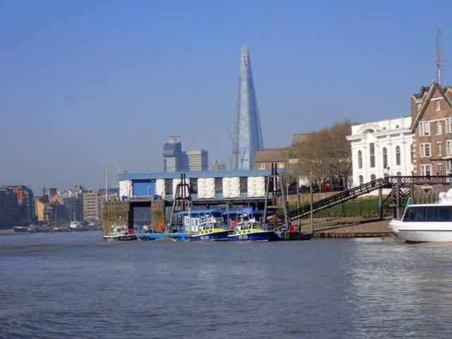 Shard and Thames