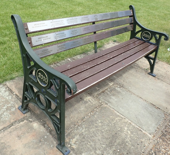 Just an ordinary bench