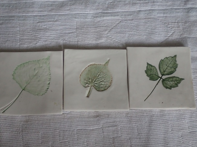 Hand Made Tiles by Sue Hoar