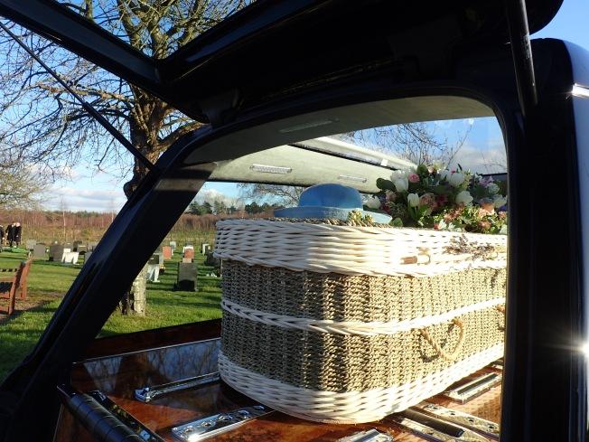 Beautiful coffin