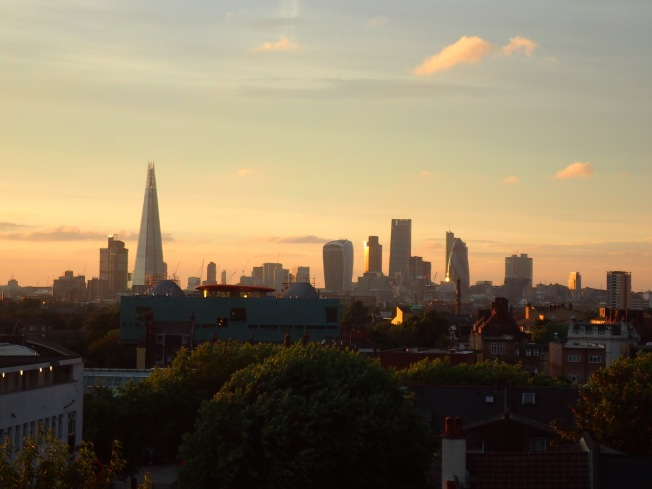 London sunset 2