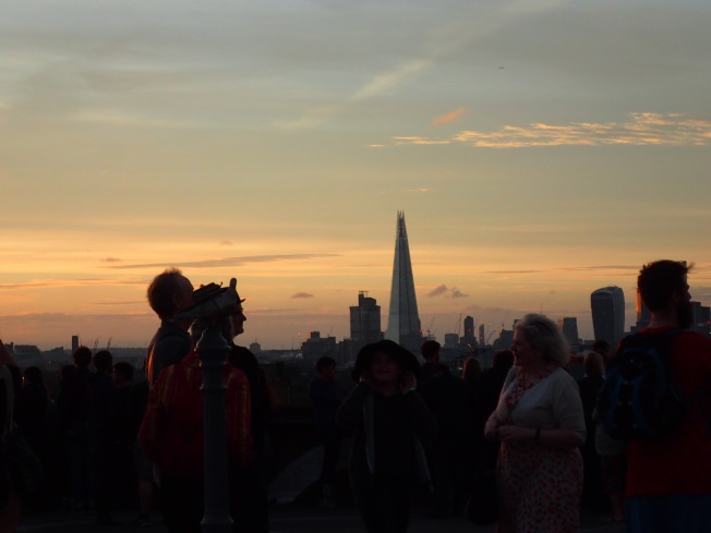London sunset 1
