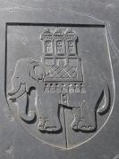 Chubby Elephant with Castle