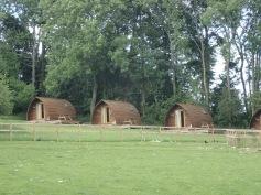 Eco lodges closer up